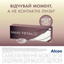 Dailies Total 1 40 линз Акция!