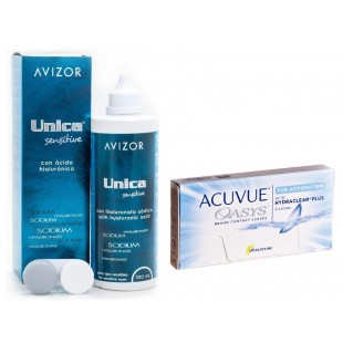 Acuvue Oasys for Astigmatism + Unica 350