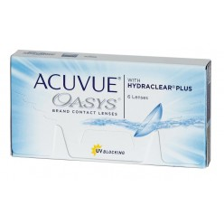 ACUVUE OASYS with HYDRACLEAR Plus Упаковка