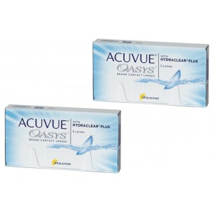 ACUVUE OASYS with HYDRACLEAR Plus 2 Упаковки