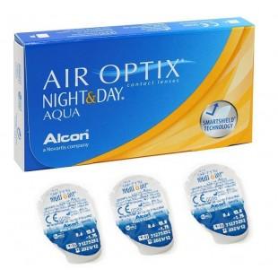 Air Optix Night & Day Aqua Упаковка