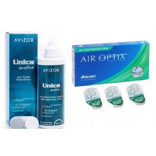 Air Optix for ASTIGMATISM Упаковка + Unica 350