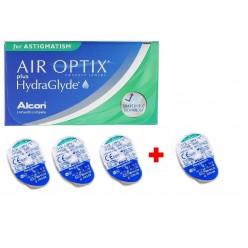 Air Optix HG for ASTIGMATISM Упаковка 3+1