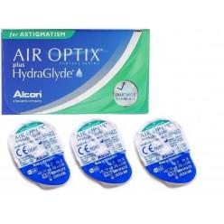 Air Optix plus HydraGlyde for ASTIGMATISM Упаковка + PureMoist 60 мл