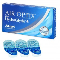 AIR OPTIX plus HydraGlyde Упаковка
