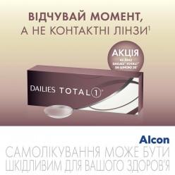 Dailies Total 1 40 линз Акция