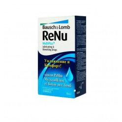 Глазные капли ReNu MultiPlus Lubricating & Rewetting